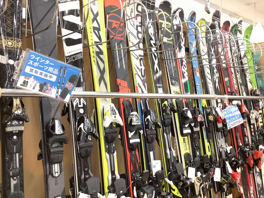 ウィンターセールの柏 我孫子 松戸 流山 スキー用品