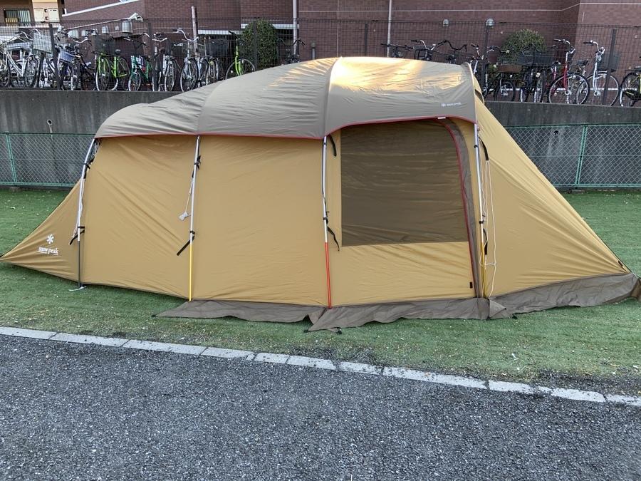 テントのSNOW PEAK