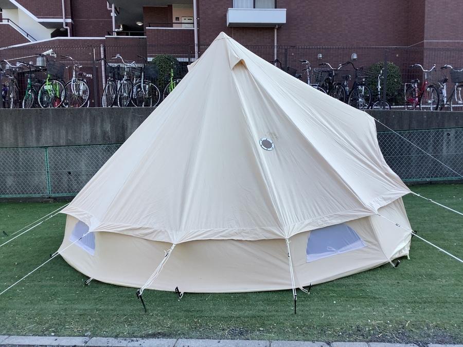 テントのキャンバスキャンプ