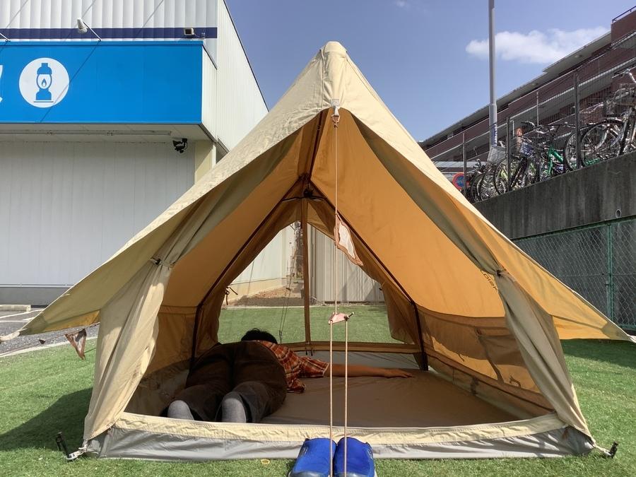 ノルディスクのソロキャンプ