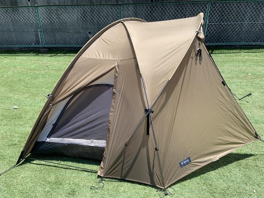 ソロキャンプ ソロテントのドームテント