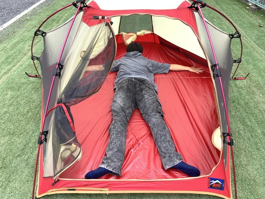 キャンプ用品のモステント