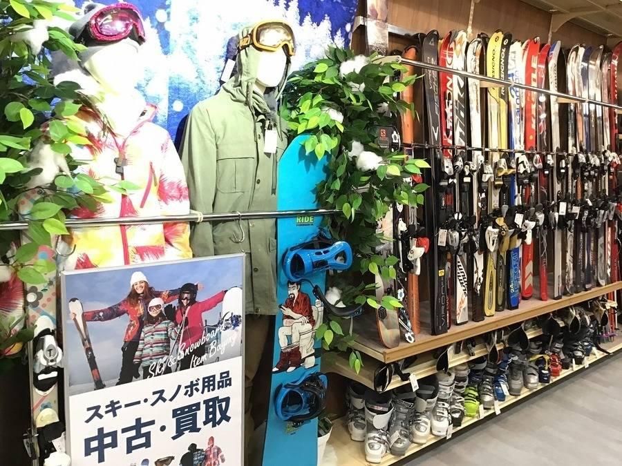 【トレファクスポーツ幕張】スキー・スノーボード用品は当店へ!