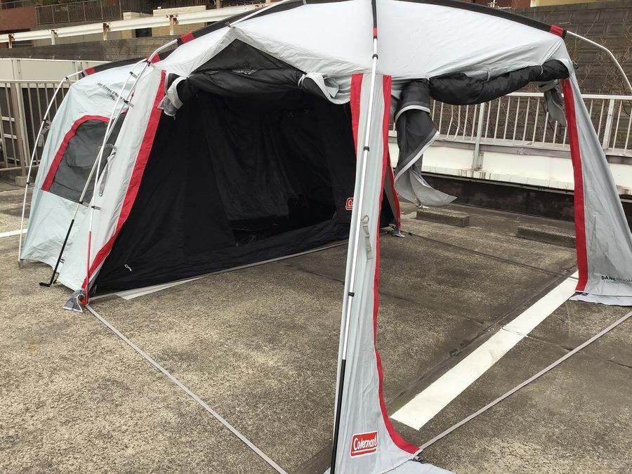 2ルームテントを買うならトレファク幕張へ!【TFスポーツ幕張】