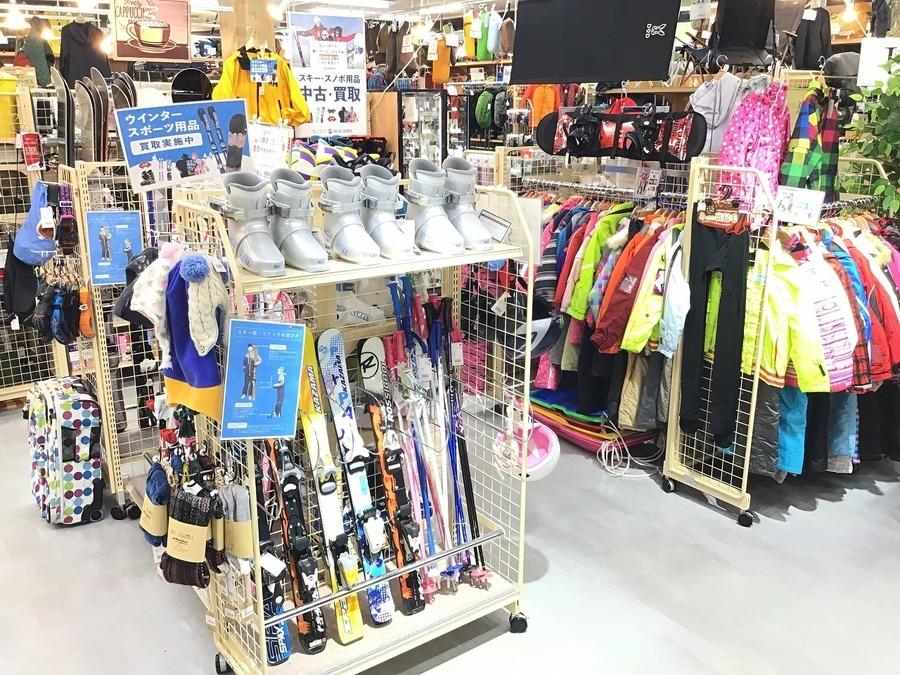【レンタルよりお得】子供のスキー用品をお探しの方はトレファクスポーツ幕張店へ!
