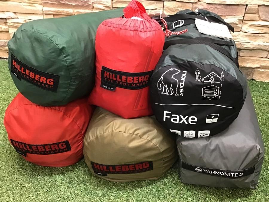 最近入荷したテントやタープをご紹介します!!