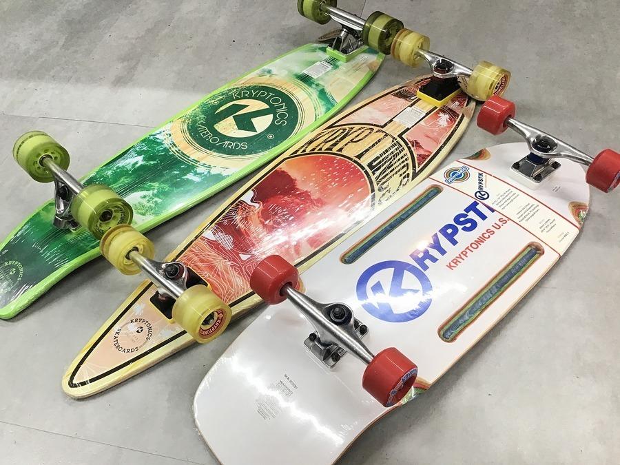 【クリプトニクス】未使用品のスケートボード当店在庫情報!