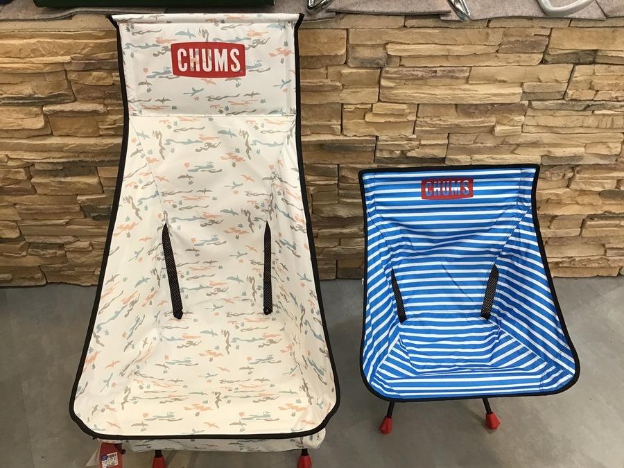 ペンギンじゃなくてかつお鳥?CHUMS(チャムス)アウトドアチェア FD chair Booby foot入荷!