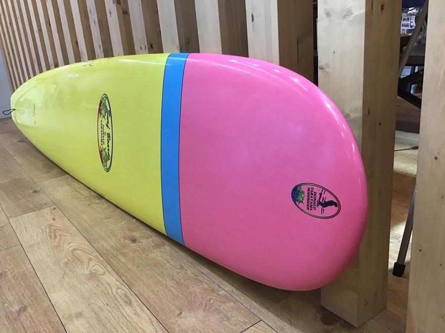 サーフィン界の巨星が生み出した逸品!DONALD TAKAYAMA ロングボード IN THE PINK入荷!!