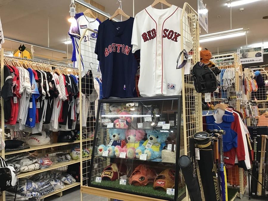 野球用品売るならトレファクスポーツ幕張店へ!!