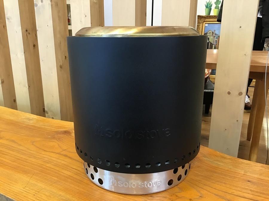 最高の焚火台!solo stove(ソロストーブ)レンジャーキット ブラックリミテッドエディション入荷!