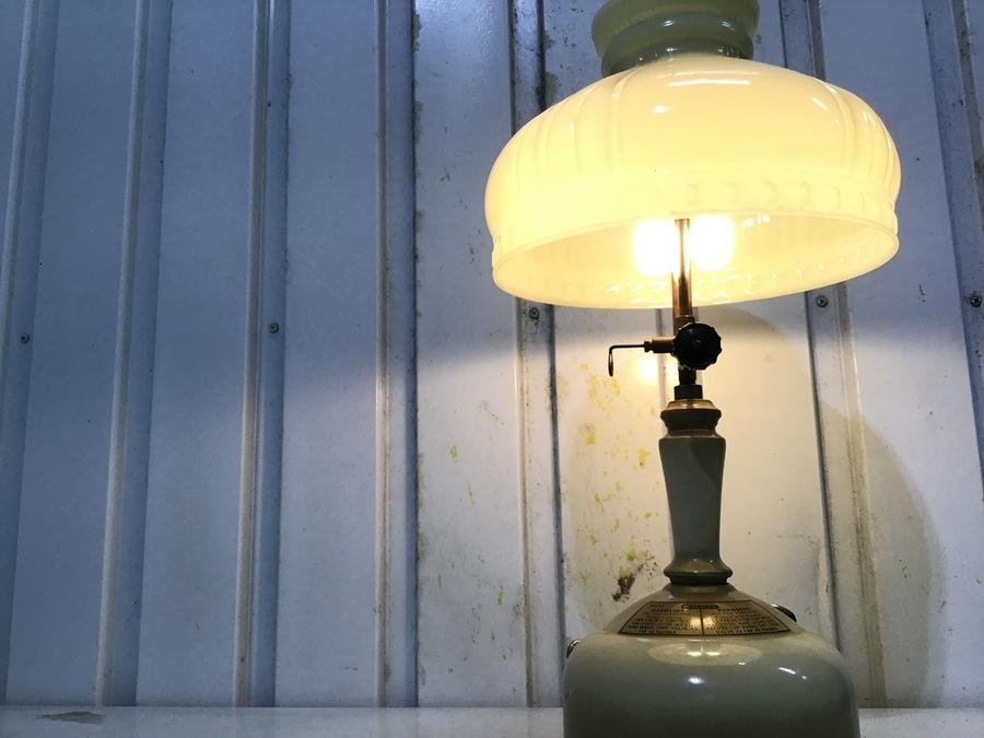 【コールマン】珍しいヴィンテージテーブルランプ!152入荷!