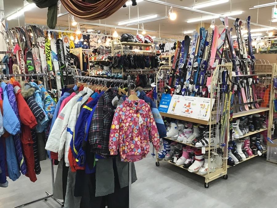 【販売・買取】スキー・スノーボード用品の事ならトレファクスポーツ幕張店へ!
