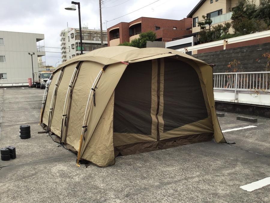 知る人ぞ知る最強トンネル型テント!OGAWA CAMPAL(オガワキャンパル)アポロン入荷!!
