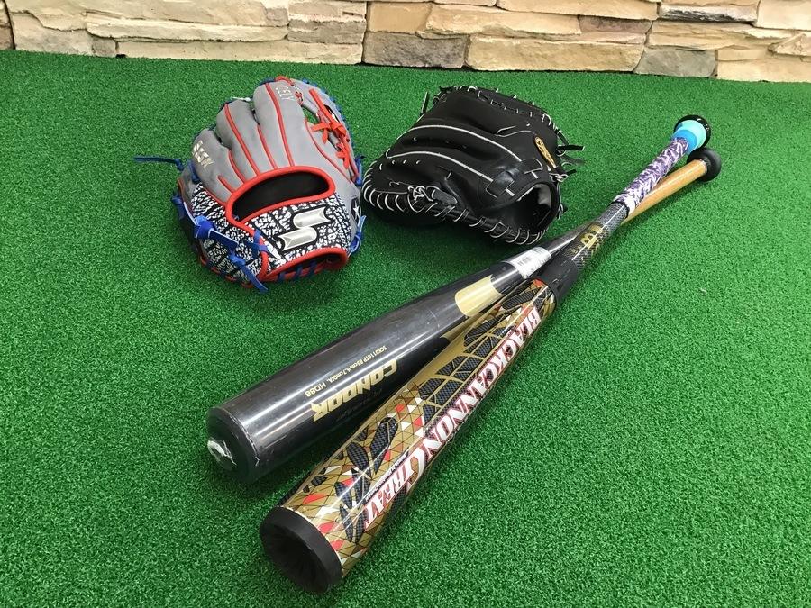 当店一押し野球用品ご紹介!!野球用品売るのも買うのもトレファクスポーツ幕張店へ!
