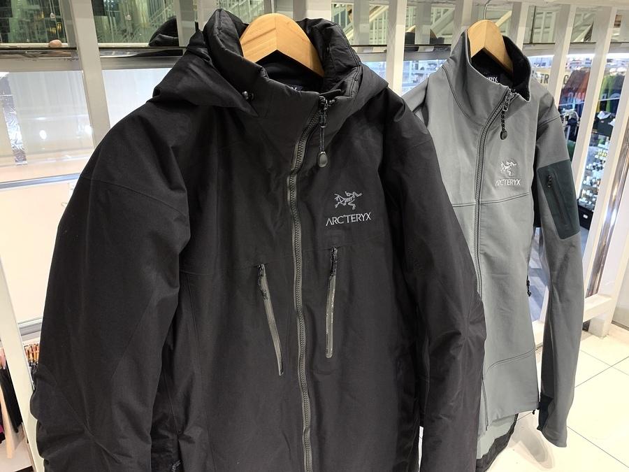 Arc'teryx (アークテリクス) フィションSVジャケット ・ガンマLTジャケット 入荷しました!