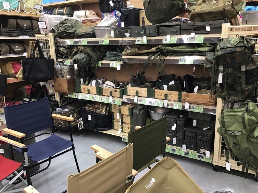【ミリタリー用品続々入荷】ソロキャンで使えそうな軍物あります!