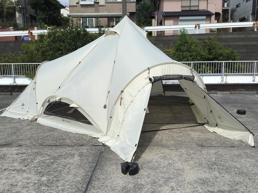 【スノーピーク買取】スピアヘッドPro.L入荷!設営も簡単で広々使用できます