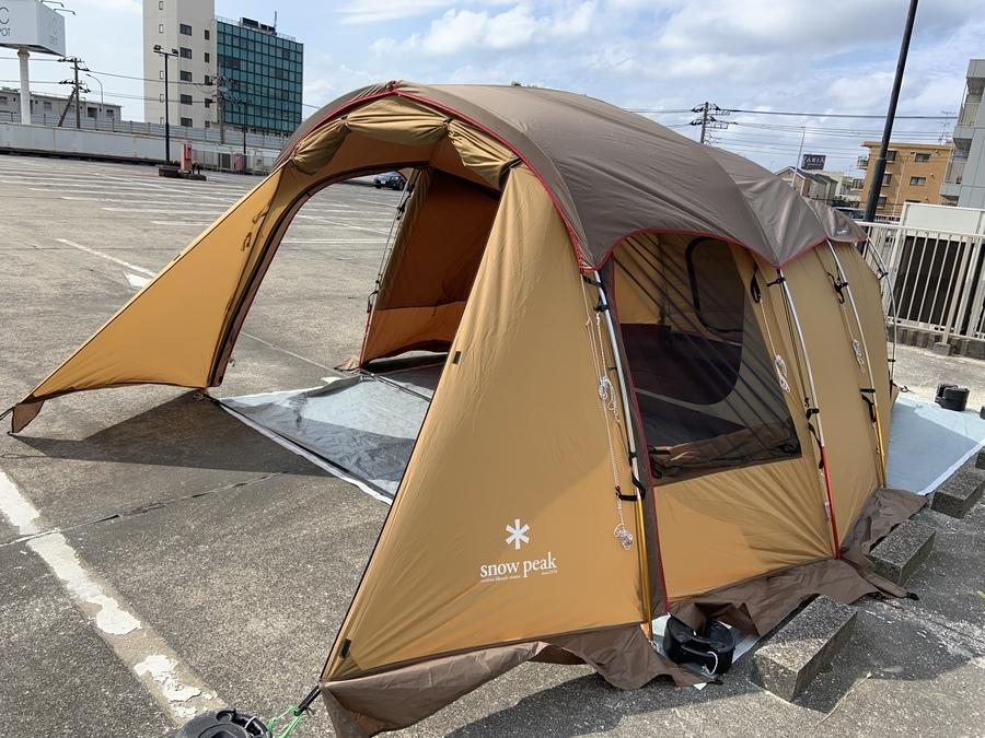 スノーピークのエルフィールドで快適なファミリーキャンプを!