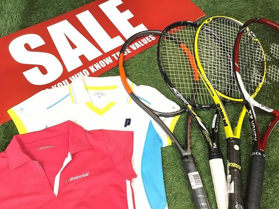 「スポーツ用品のテニス 」