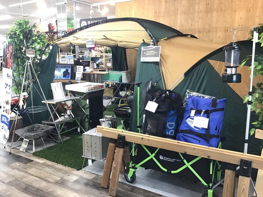 DODの習志野 キャンプ用品