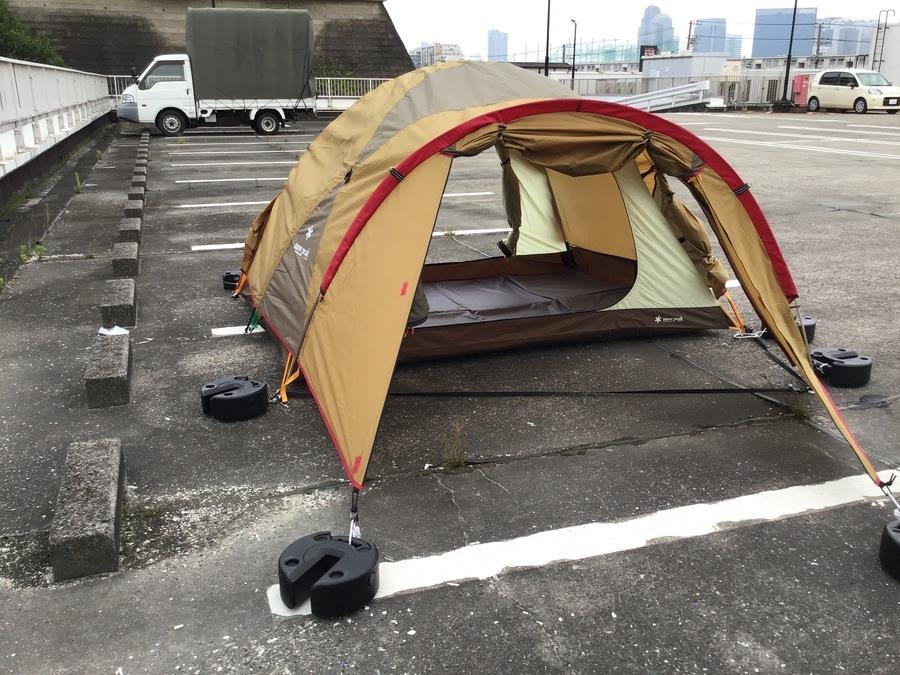 SNOW PEAKのテント