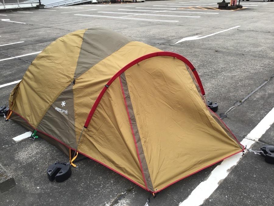 テントの幕張 キャンプ用品