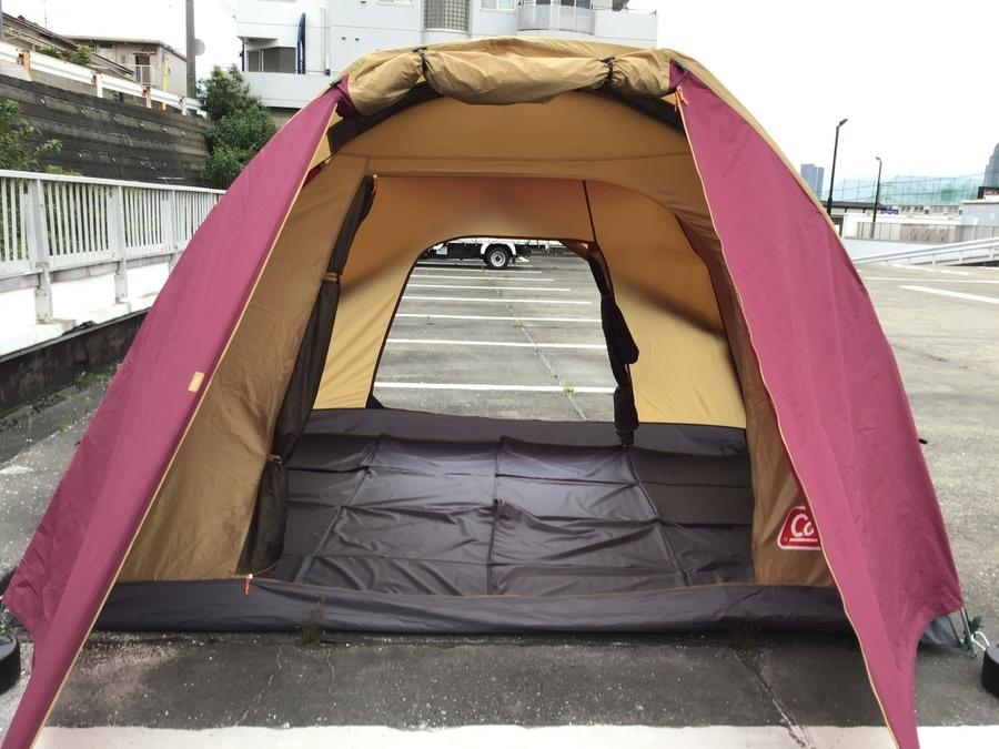 ドームテントの幕張 キャンプ用品