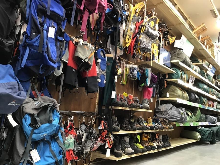 登山用品の千葉 トレッキング