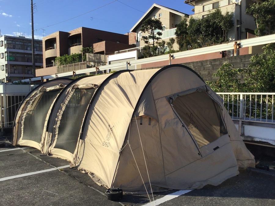 幕張 テント