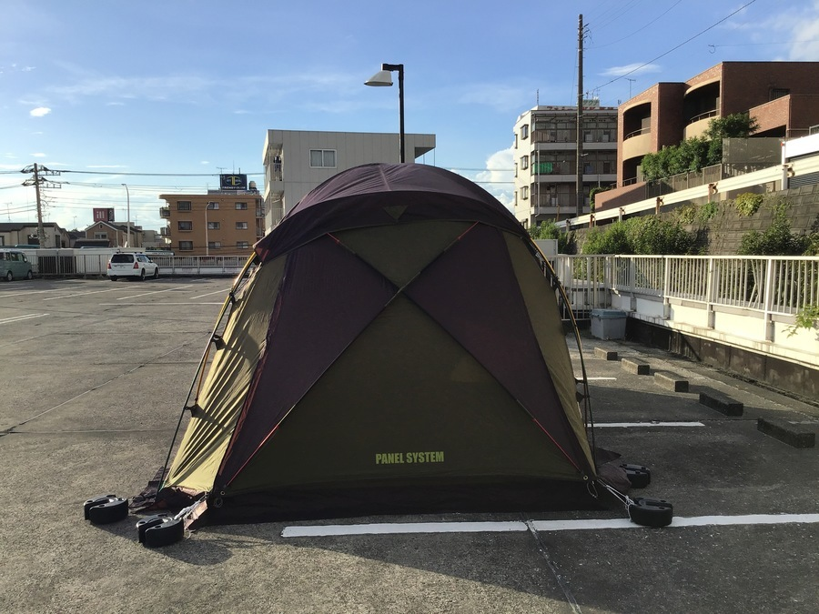 Colemanのテント