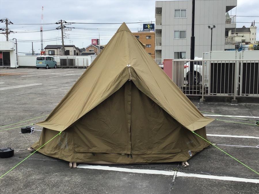 ノルディスクの幕張 キャンプ用品