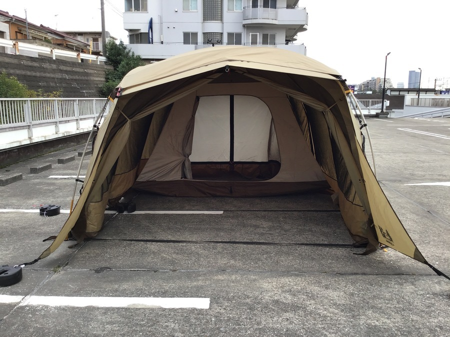 ツールームテントのアポロン