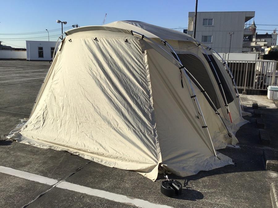 ランドロック の幕張 テント