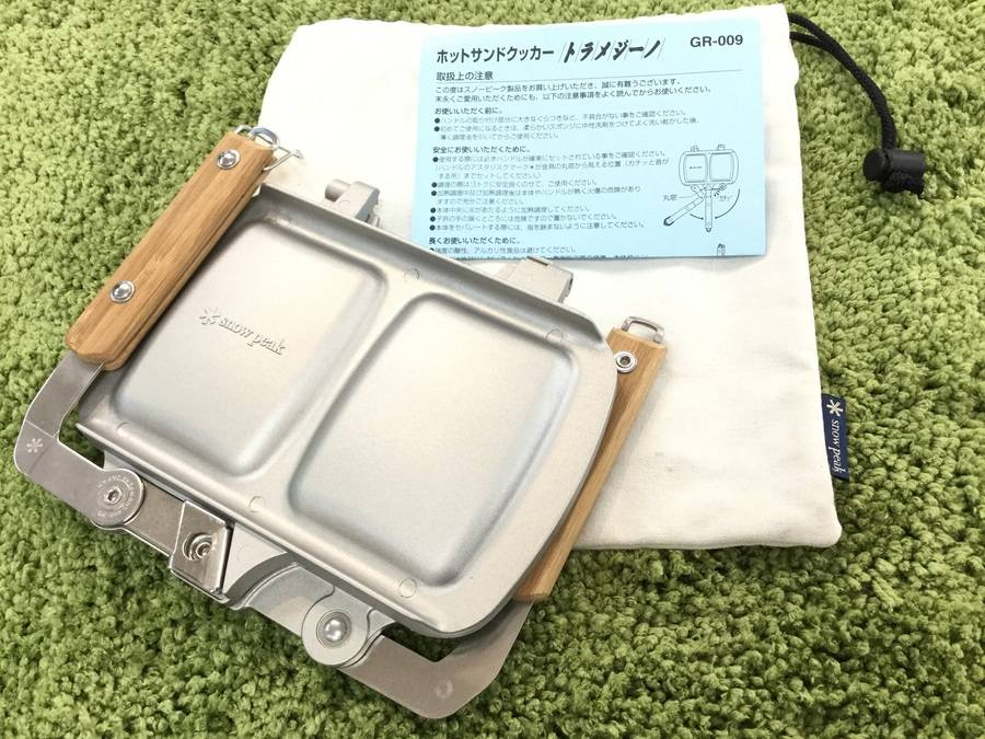 【TFスポーツ岩槻店】スノピのホットサンドクッカー入荷!!
