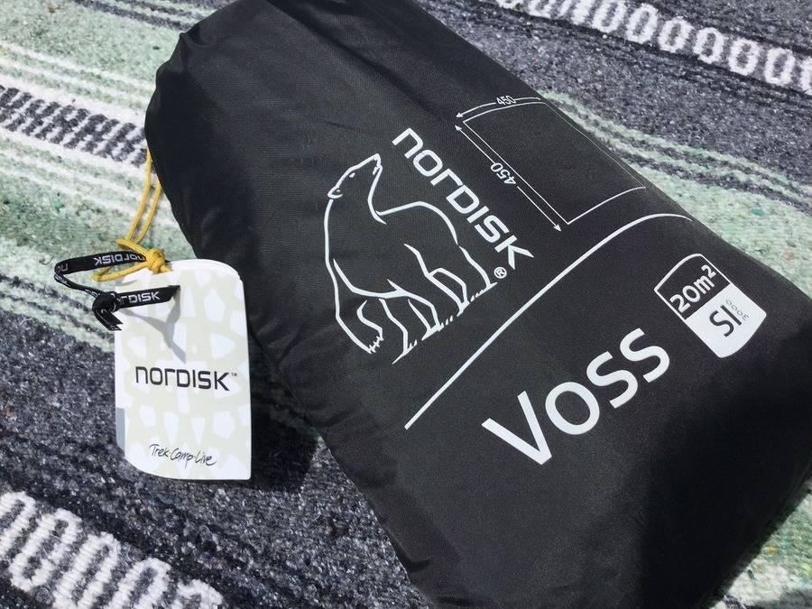 【TFスポーツ岩槻店】Nordisk(ノルディスク)のタープVOSS SI 20の未使用品【中古ノルディスク】【中古キャンプ用品】