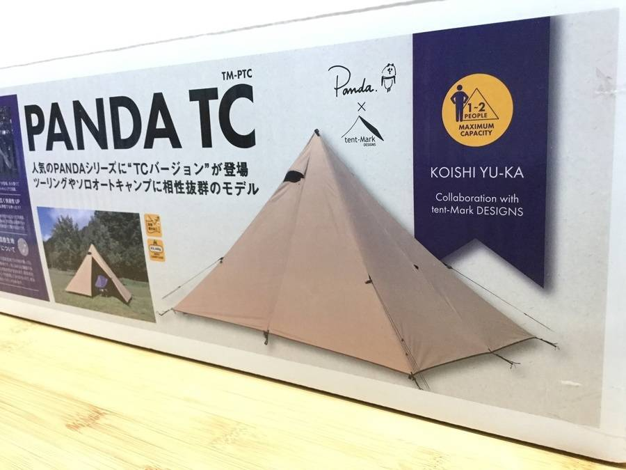 【TFスポーツ岩槻店】大人気tent-mark DESIGNS(テンマクデザイン)のPANDA TC入荷速報!!