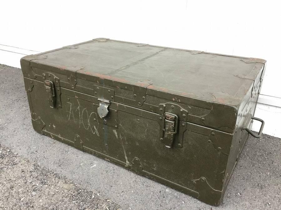 【TFスポーツ岩槻店】キャンプで使えるミリタリーBOX!収納でもテーブルとしても!