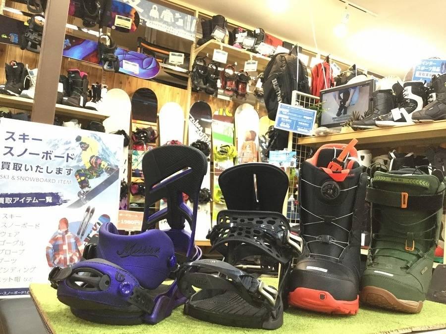 【TFスポーツ岩槻店】スノーボードブーツ・ビンディング続々入荷!