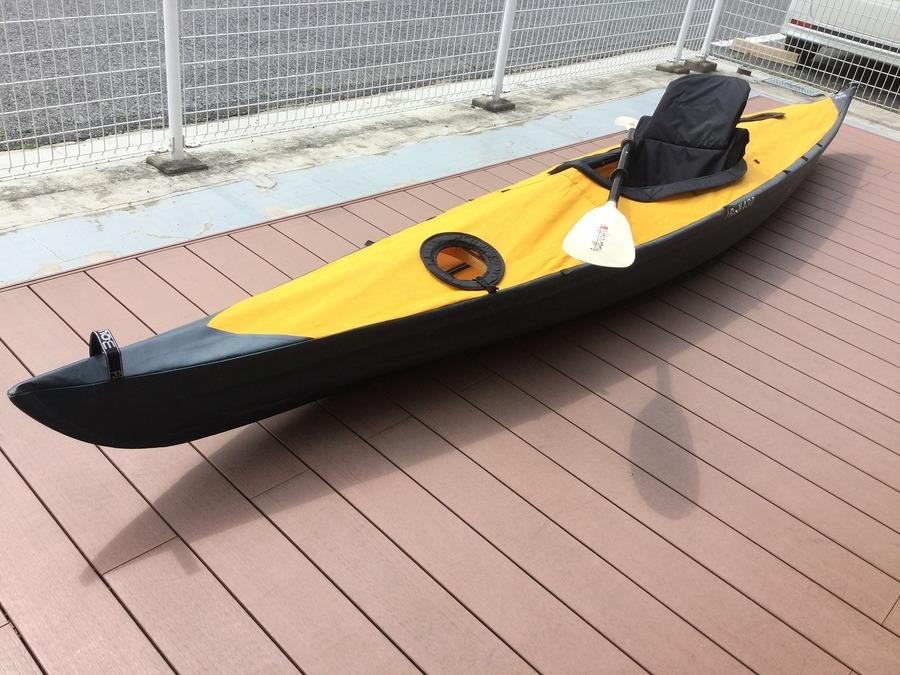 【TFスポーツ岩槻店】フジタ製のカヤック(430TREK)が入荷しました!!
