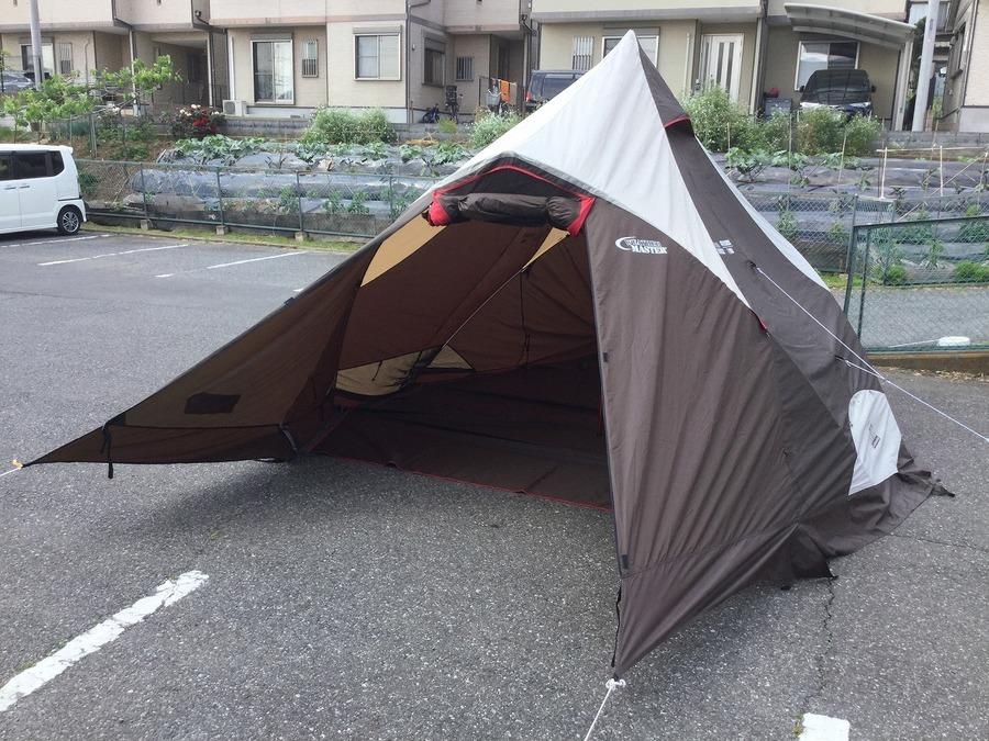 【TFスポーツ岩槻店】2ルームモノポールテント!!Coleman(コールマン)のウェザーマスター4Sクレトスが入荷!!