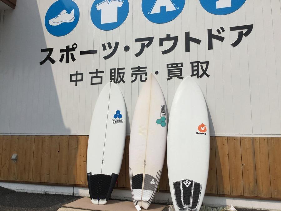 【アルメリック】【トルク】人気サーフボード続々入荷!