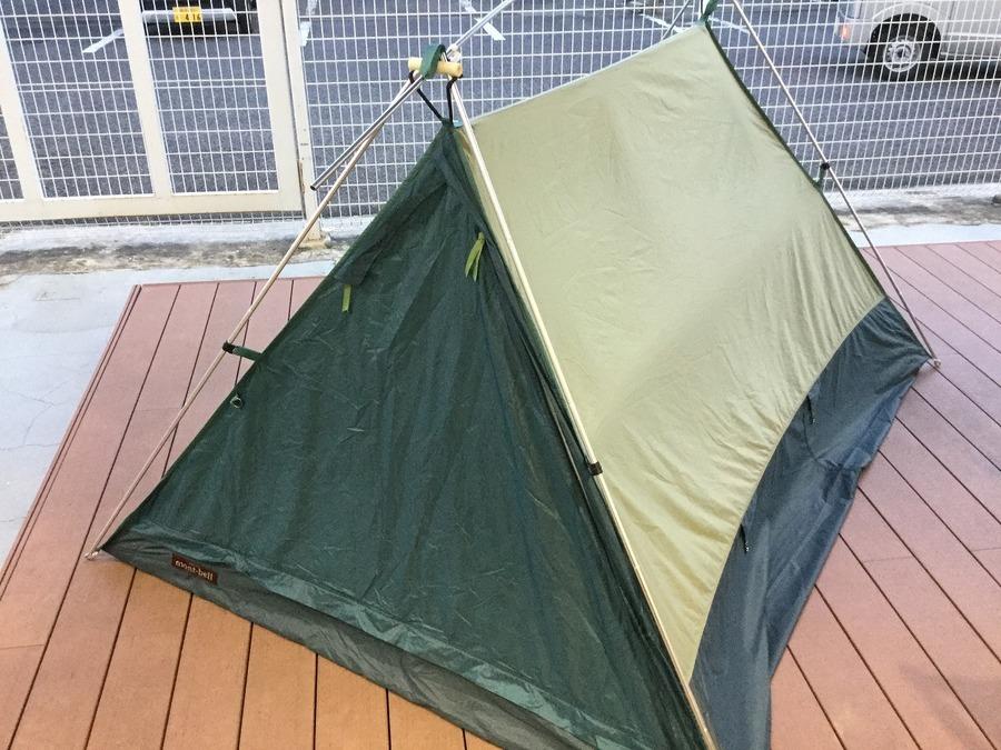 【モンベル】大人気テント!ムーンライト3型入荷です。