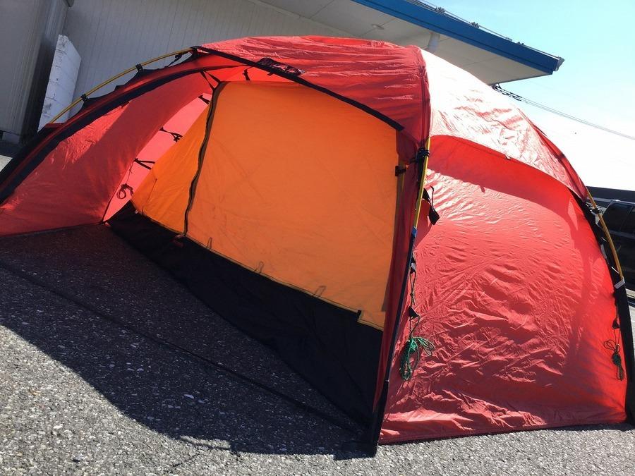 【ヒルバーグ】山岳テントのアラックが入荷!