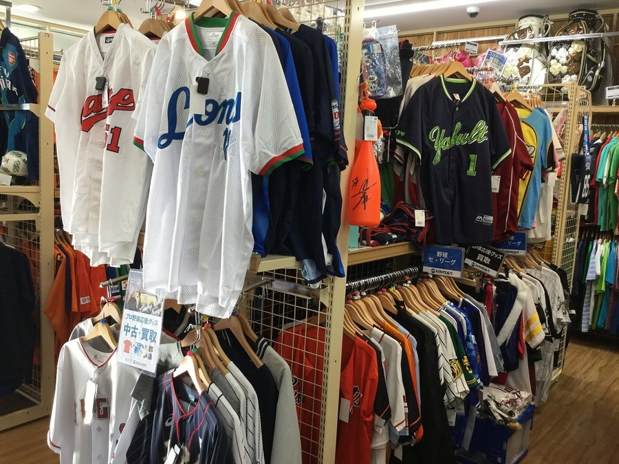 【中古野球用品】買うのも売るのもトレファクスポーツ岩槻店へ!