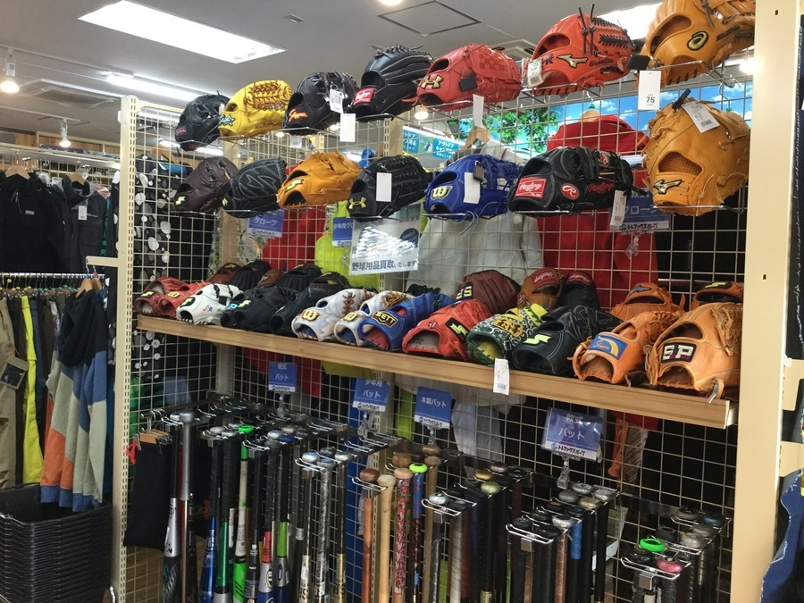 【中古野球用品】オンラインで購入できる軟式グローブのご紹介!