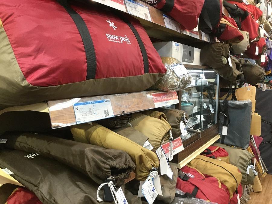 【スマホで簡単】スノーピークのテントがオンラインで購入できる!