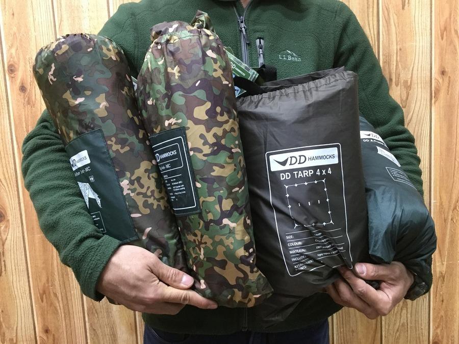 【ソロキャンプ買取】芸能人も愛用するDDタープ・テント続々入荷!