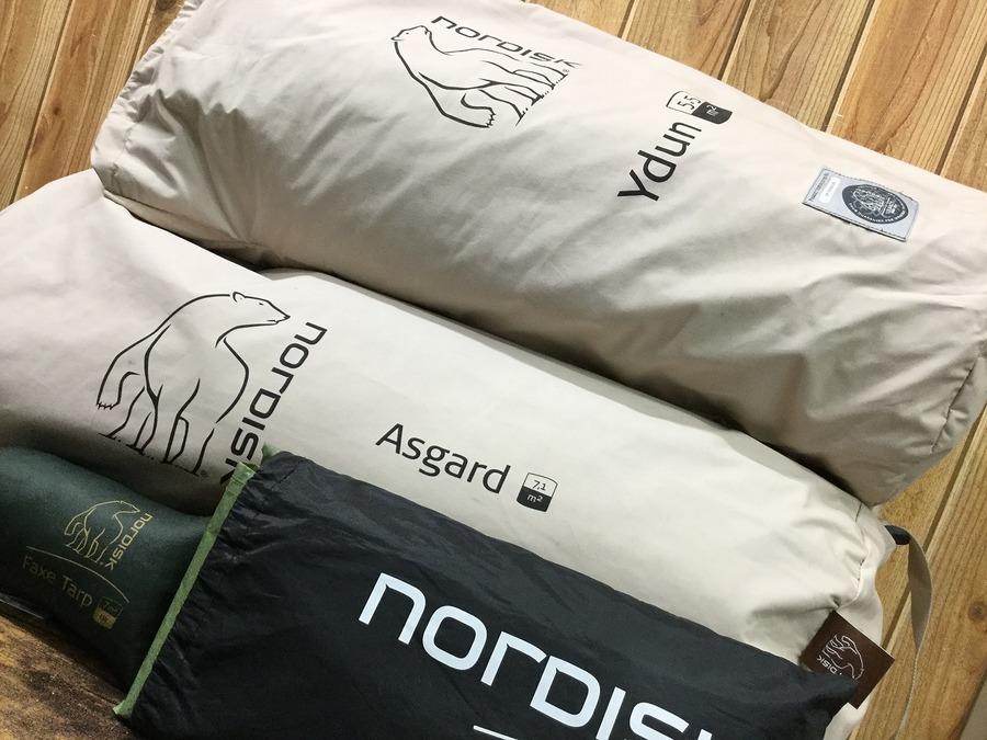 【オシャレキャンパー必見】ノルディスクのテント・タープ多数入荷!