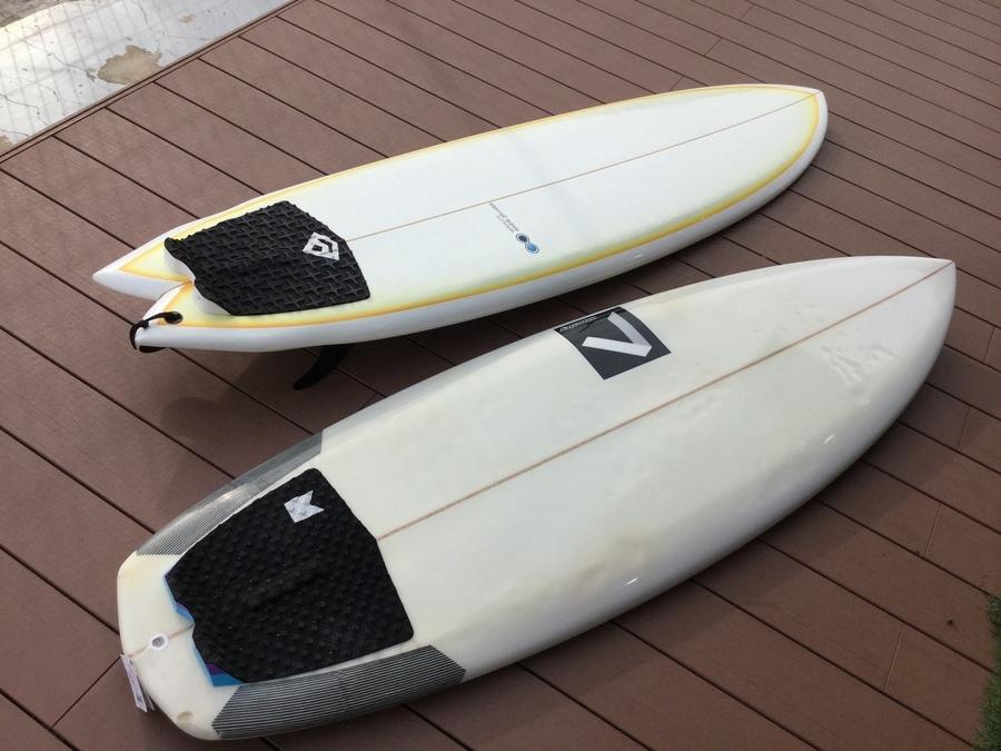 【サーフボード】近日入荷のショートボードとファンボード
